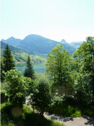 Das «Haus am See» bietet eine fantastische Aussicht auf den Wägitaler-See und die Glarner Bergwelt